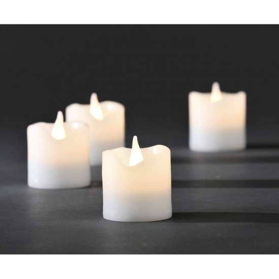 Konstsmide Wax candles warm white